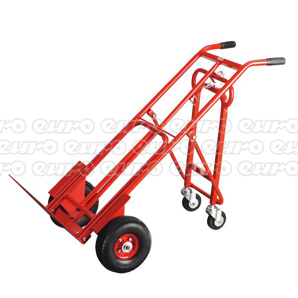 Bargain CST989 Sack Truck 3 in 1 with 250 x 90mm Pneumatic Tyre 250kg Capacity Stockists