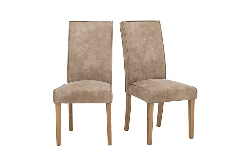 Bargain California Pair of Faux Suede Chairs Stockists