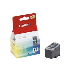 Bargain Canon CL-51 Original Colour High Capacity Ink Cartridge Stockists