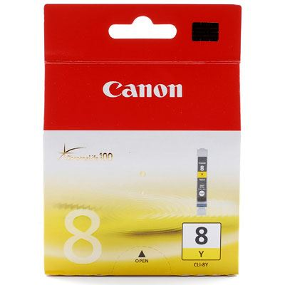 Bargain Canon CLI8 Yellow Ink Cartridge Stockists