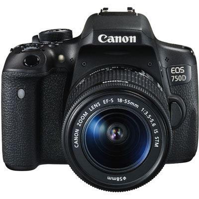 Bargain Canon EOS 750D Digital SLR Camera with 18-55mm Lens Stockists