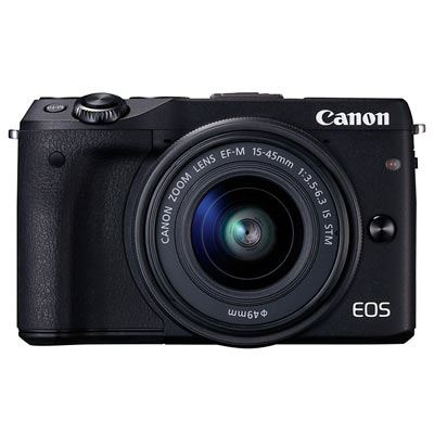 Bargain Canon EOS M3 Digital Camera with 15-45mm Lens Stockists
