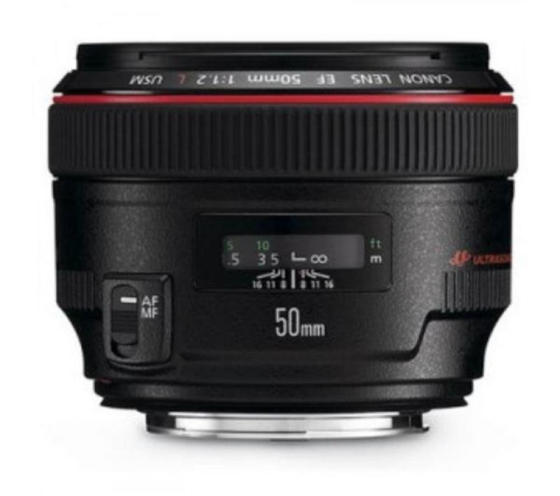 Bargain Canon Ef 50mm F 12l Usm Telephoto Lens Stockists