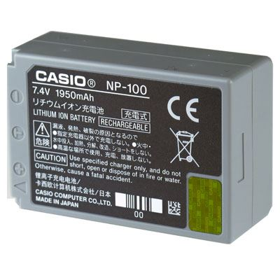 Bargain Casio NP 100DCA Battery Stockists