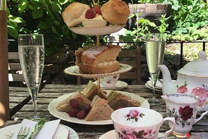 Bargain Celebration Afternoon Tea for Two at the Lion Rock Tea Room Stockists