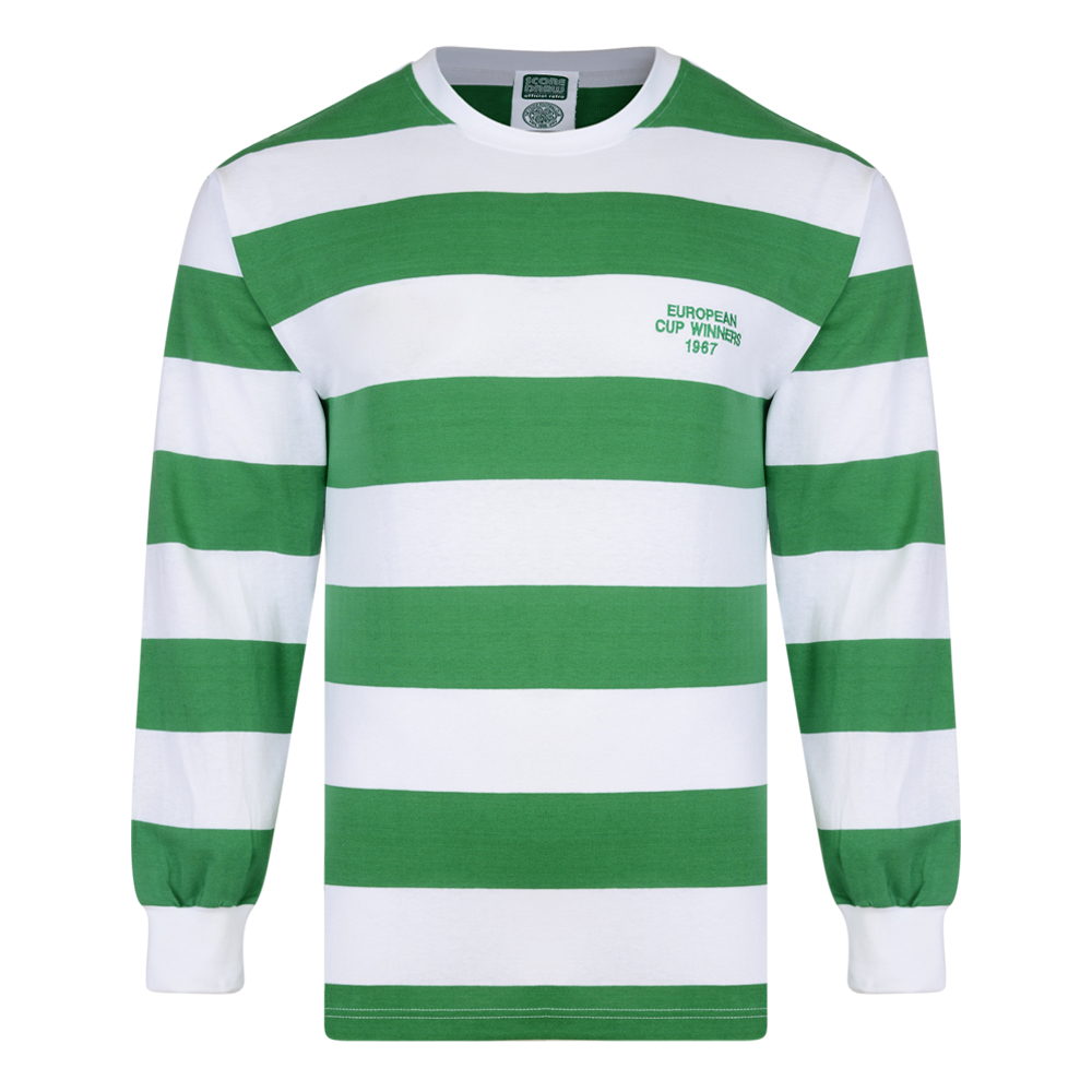 Stockists of Celtic 1967 European Cup Winners LS Retro Shirt