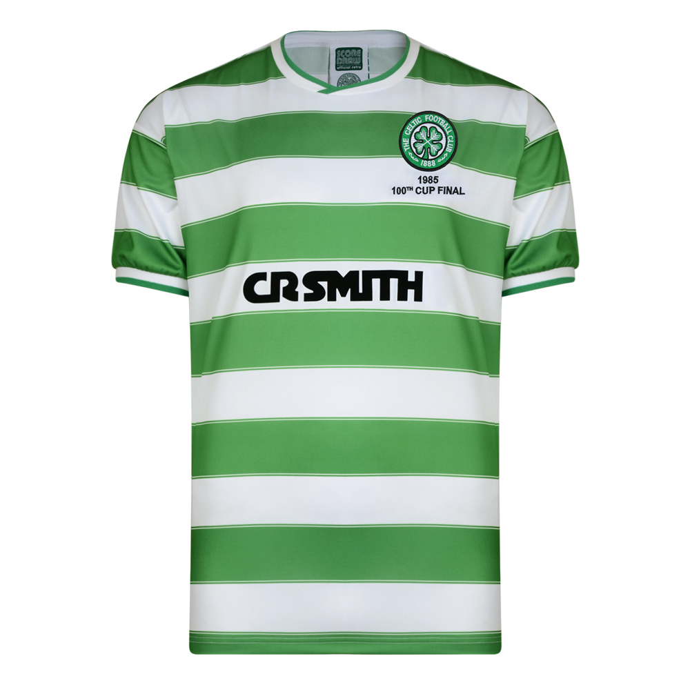 Stockists of Celtic 1985 Scottish Cup Final Retro Shirt