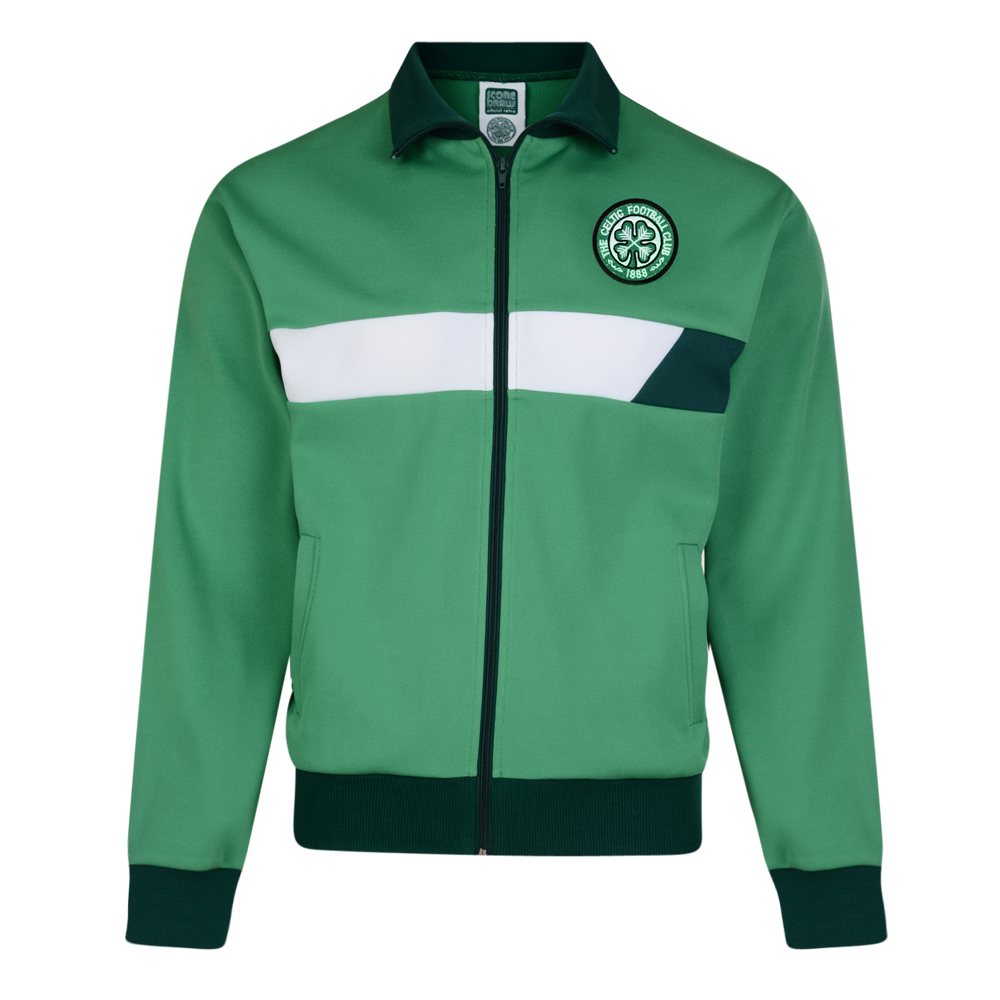 Bargain Celtic 1986 Track Retro Track Jacket Stockists