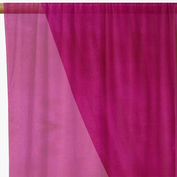 Stockists of Cerise Organza Fabric