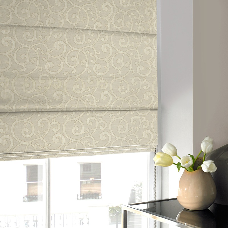 Stockists of Champagne Nadia Roman Blind