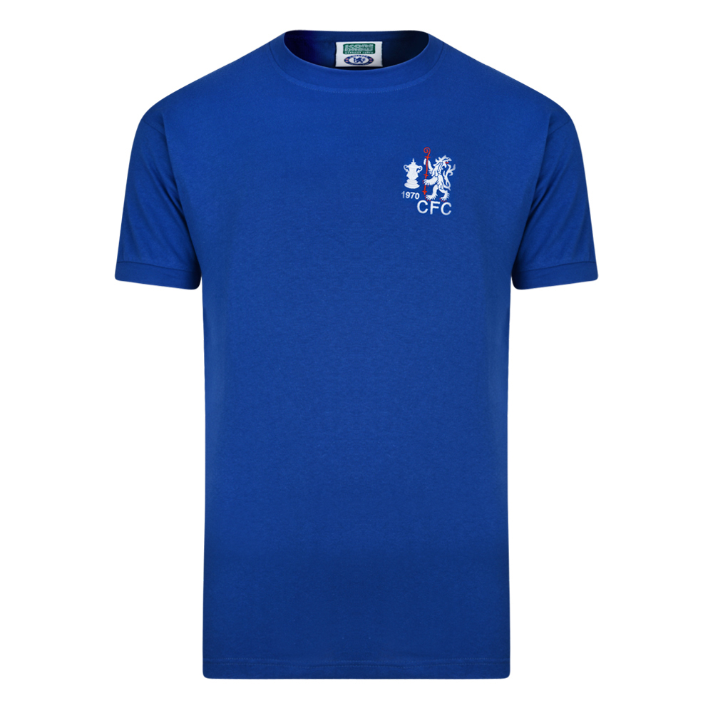 Bargain Chelsea 1970 FA Cup Winners Retro Football Shirt Stockists
