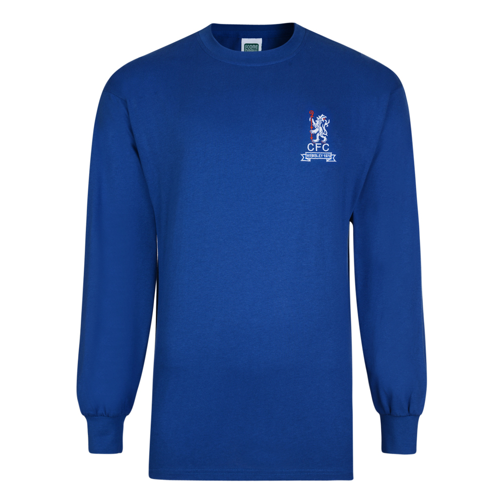 Stockists of Chelsea 1970 FA Cup Winners Retro Football Shirt