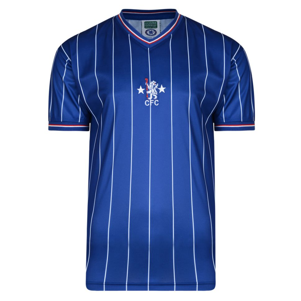 Bargain Chelsea 1982 Retro Football Shirt Stockists