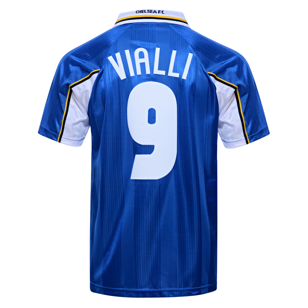 Bargain Chelsea 1998 ECWC Final No9 Vialli shirt Stockists
