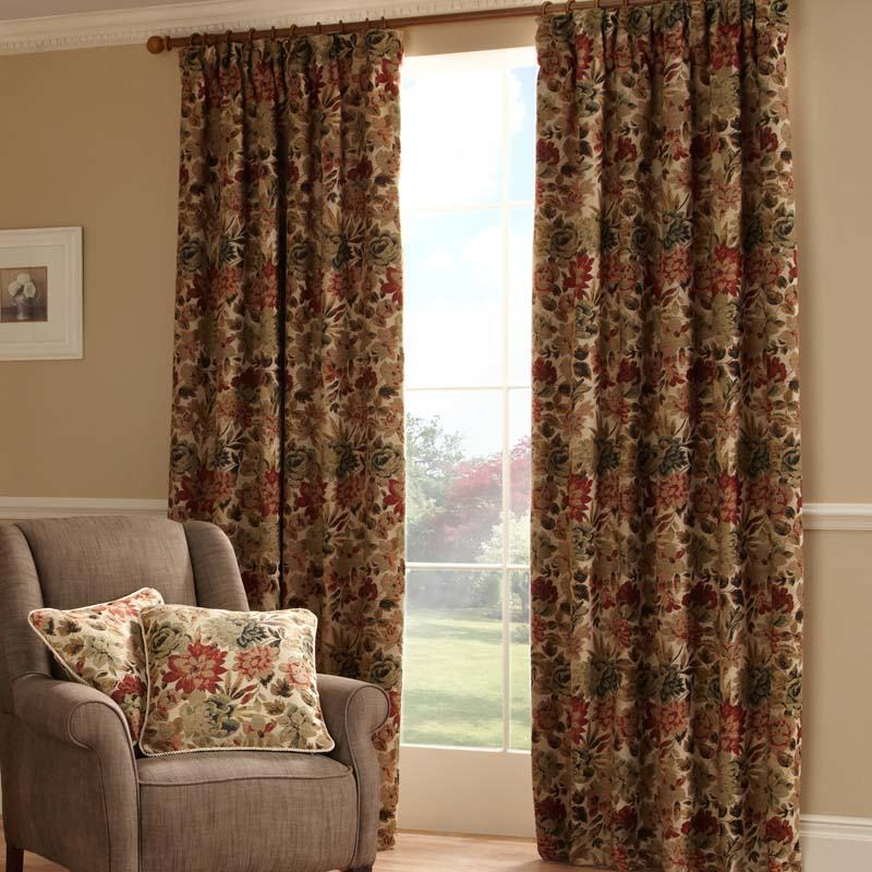 Stockists of Cherry Lakeland Ready Made Lined Curtains