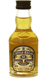 Stockists of Chivas Regal - 12 Year Old Miniature 5cl Miniature