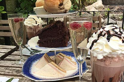 Bargain Chocolate Indulgence Afternoon Tea for Four at Lion Rock Tea Room Stockists