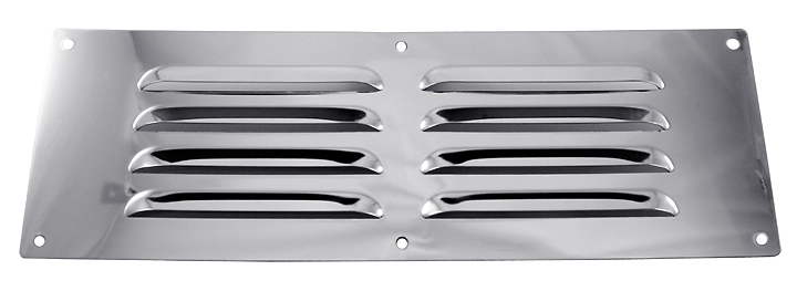 Stockists of Chromed Slotted Vent 229x76mm