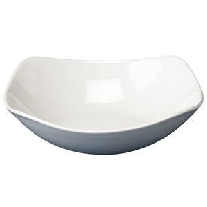 Bargain Churchill White X Squared Bowl SQ10 9.25inch / 23.5cm (Single) Stockists