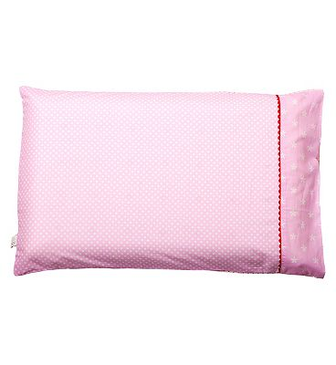 Bargain ClevaMama Baby Pillow Case - Pink Stockists