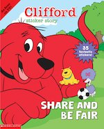 Bargain Clifford: Sticker Story   Share and Be Fair Stockists