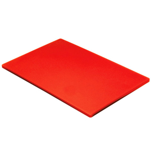 Bargain Colour Coded Chopping Board 1/2inch Red   Raw Meat (Single) Stockists