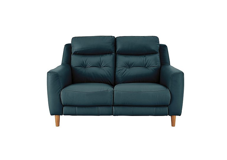 Bargain Compact Collection Bijoux 2 Seater Leather Recliner Sofa Stockists