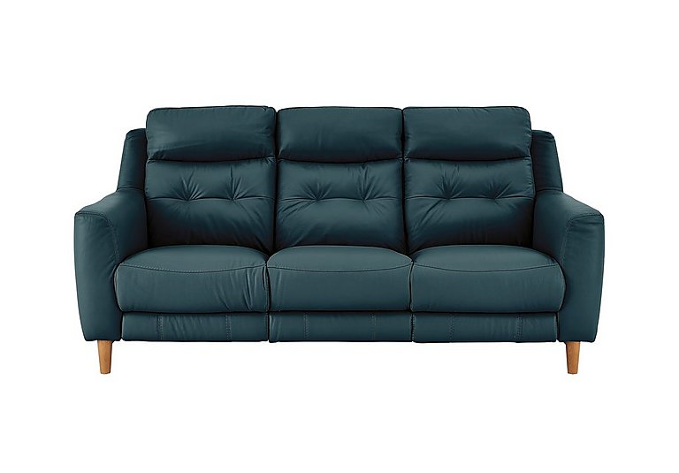Bargain Compact Collection Bijoux 3 Seater Leather Recliner Sofa Stockists