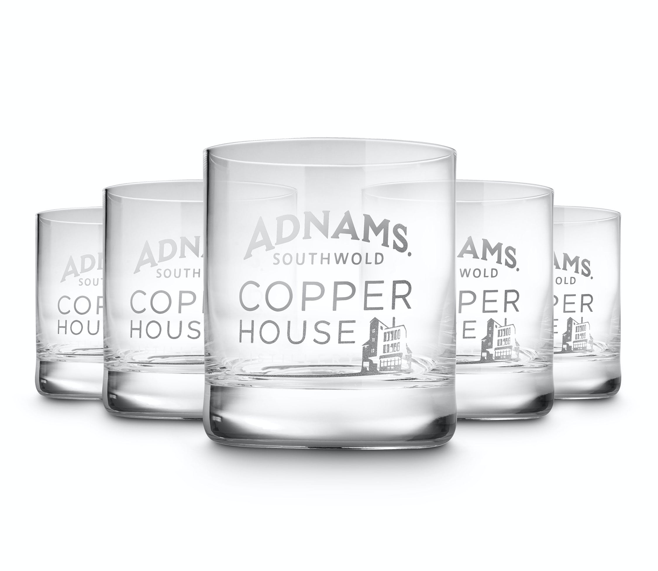 Bargain Copper House Tumblers, pack of six Stockists