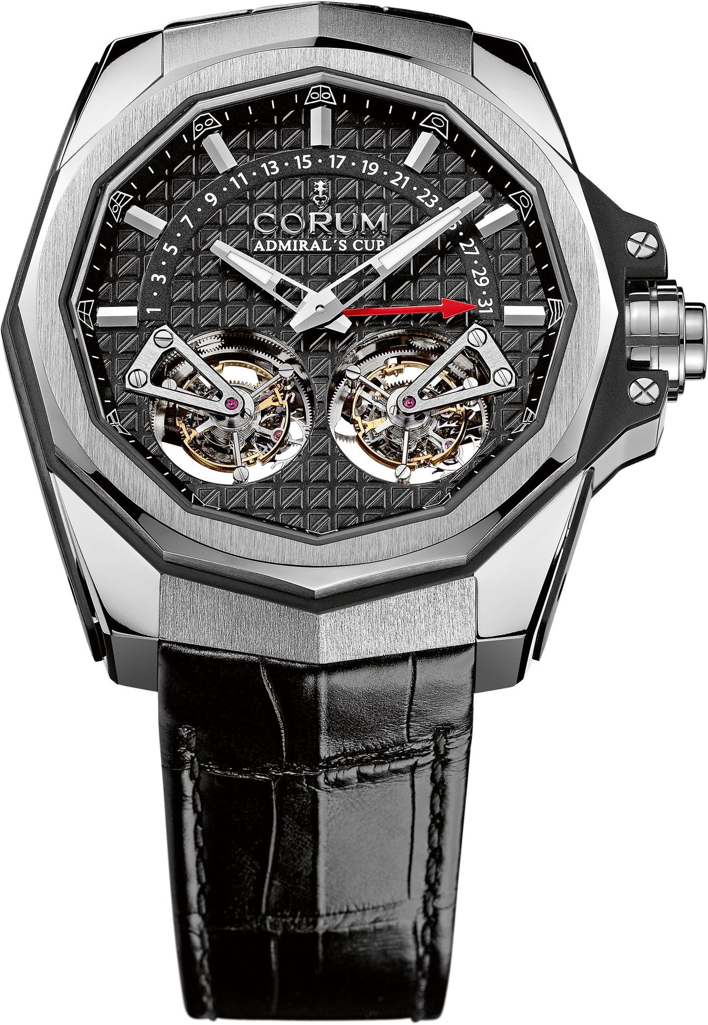 Bargain Corum Watch Admirals Cup AC-One 45 Double Tourbillon Stockists