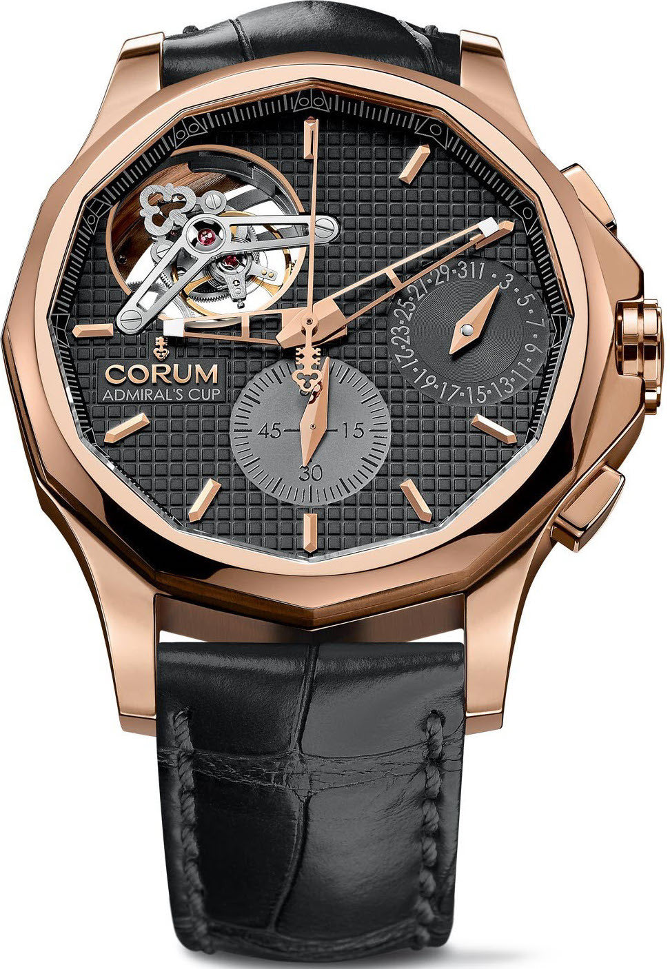 Bargain Corum Watch Admirals Seafender 47 Tourbillon Chronograph Stockists