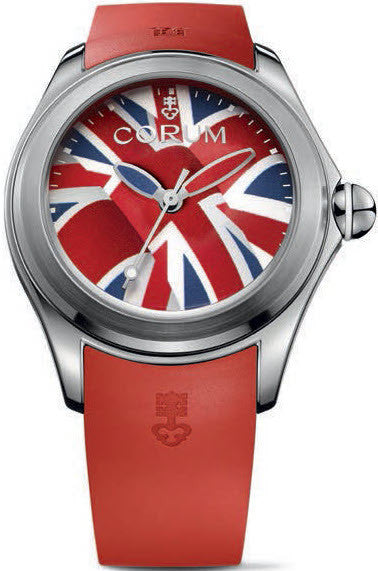 Bargain Corum Watch Bubble 42 Flag UK Limited Edition Stockists