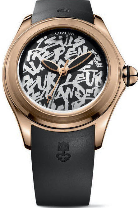 Bargain Corum Watch Bubble 47 Booba Limited Edition Stockists