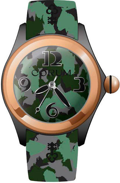 Bargain Corum Watch Bubble 47 Camouflage Stockists