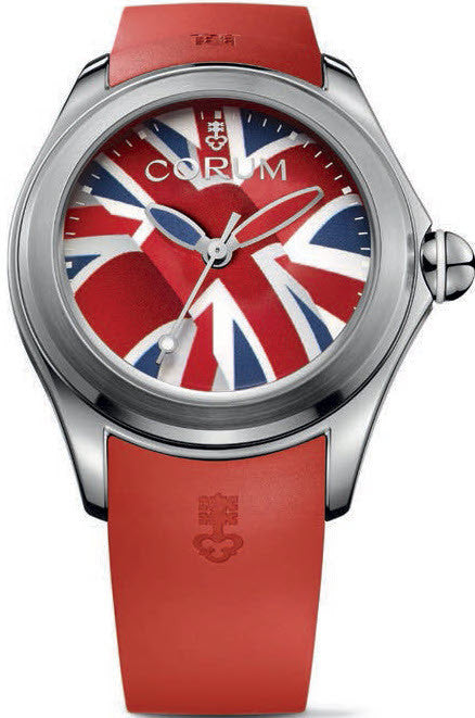 Bargain Corum Watch Bubble 47 Flag UK Limited Edition Stockists