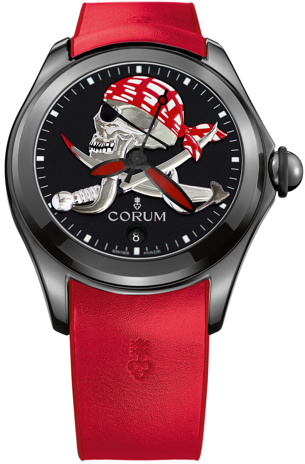 Bargain Corum Watch Bubble 47 Pirate Limited Edition Stockists