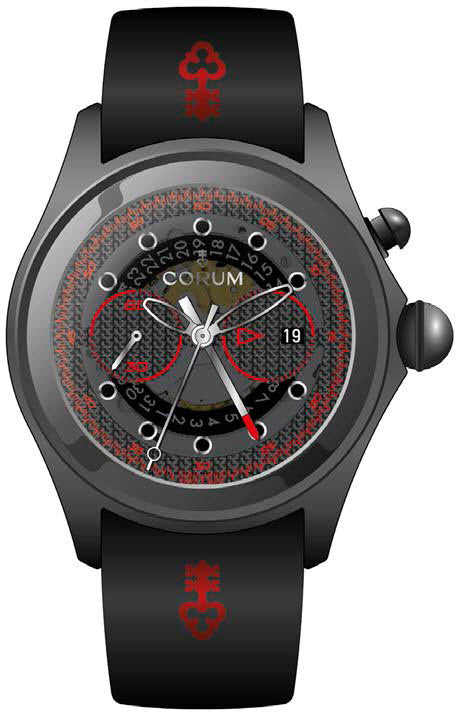 Bargain Corum Watch Bubble 52 Centro Limited Edition Stockists