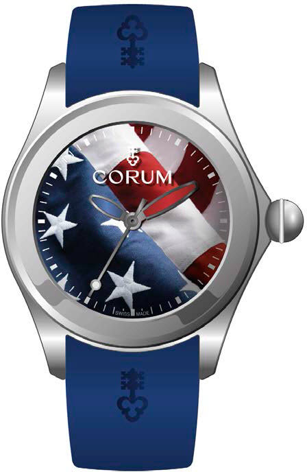 Bargain Corum Watch Bubble 52 US Flag Limited Edition Stockists