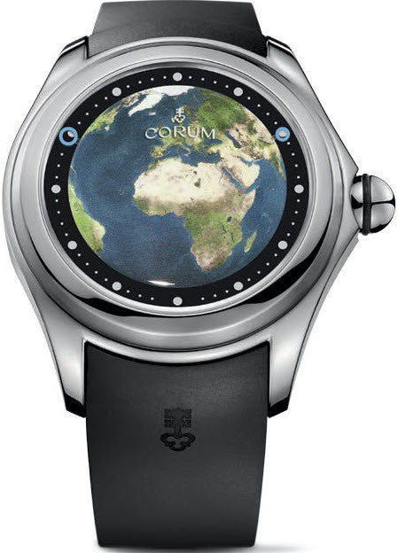 Bargain Corum Watch Bubble Magical 52 Earth Limited Edition Stockists