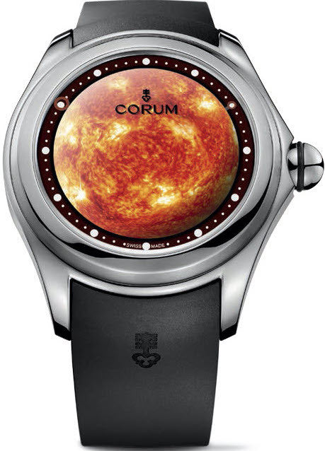 Bargain Corum Watch Bubble Magical 52 Solar Limited Edition Stockists