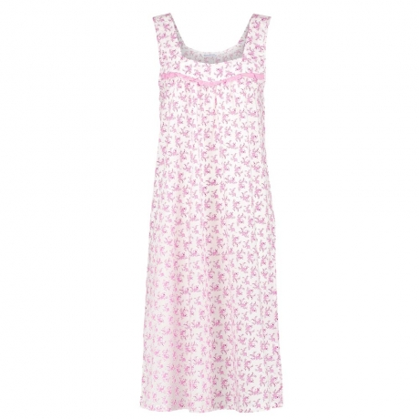 Stockists of Floral Cap Sleeve Nightdress