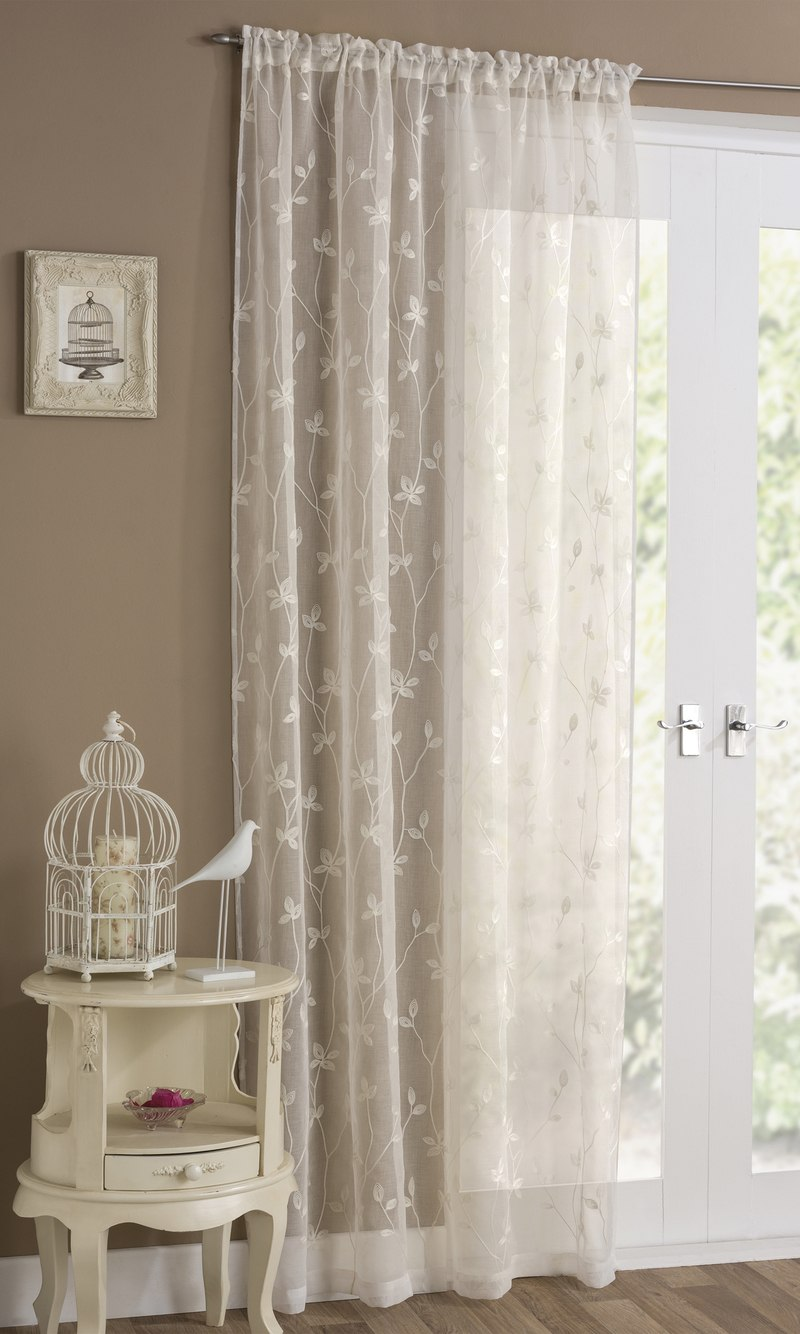 Bargain Cream Florence Voile Panel Stockists