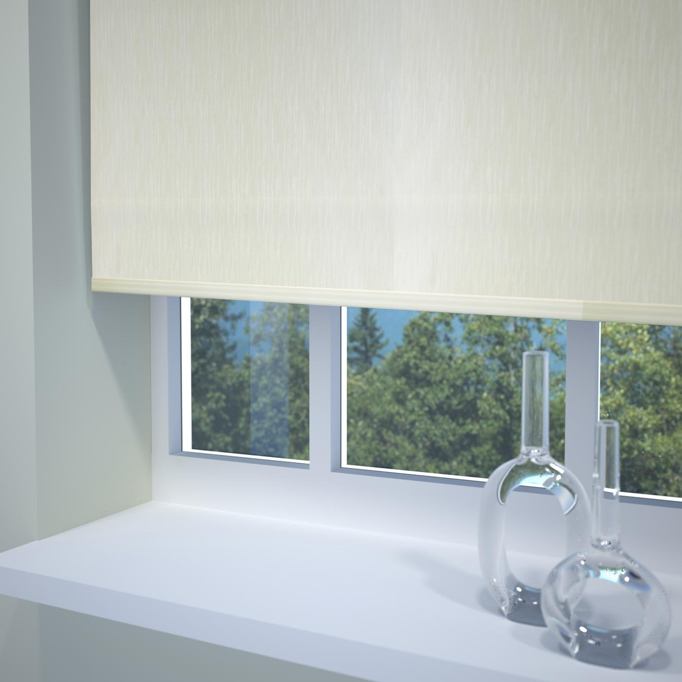 Stockists of Cream Venice Roller Blind