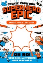 Bargain Create Your Own #3: Create Your Own Superhero Epic Stockists