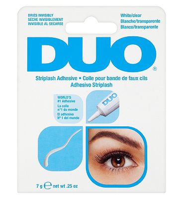 Bargain DUO Striplash Adhesive white clear 7g Stockists
