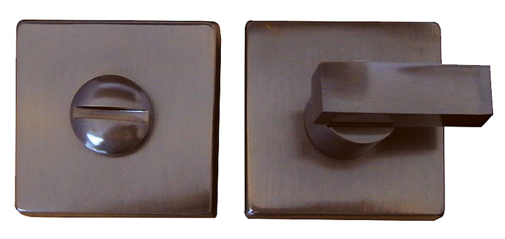 Bargain Dark Bronze Square Emergency Release 50mm Stockists