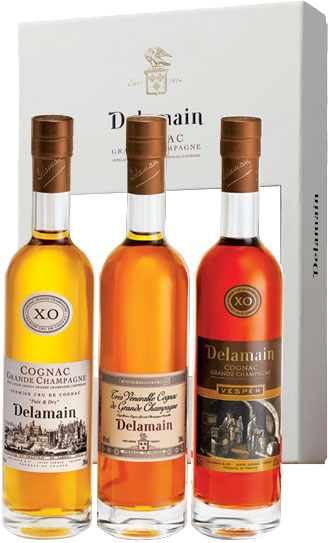 Stockists of Delamain - Trio Pack 3x 20cl Bottles