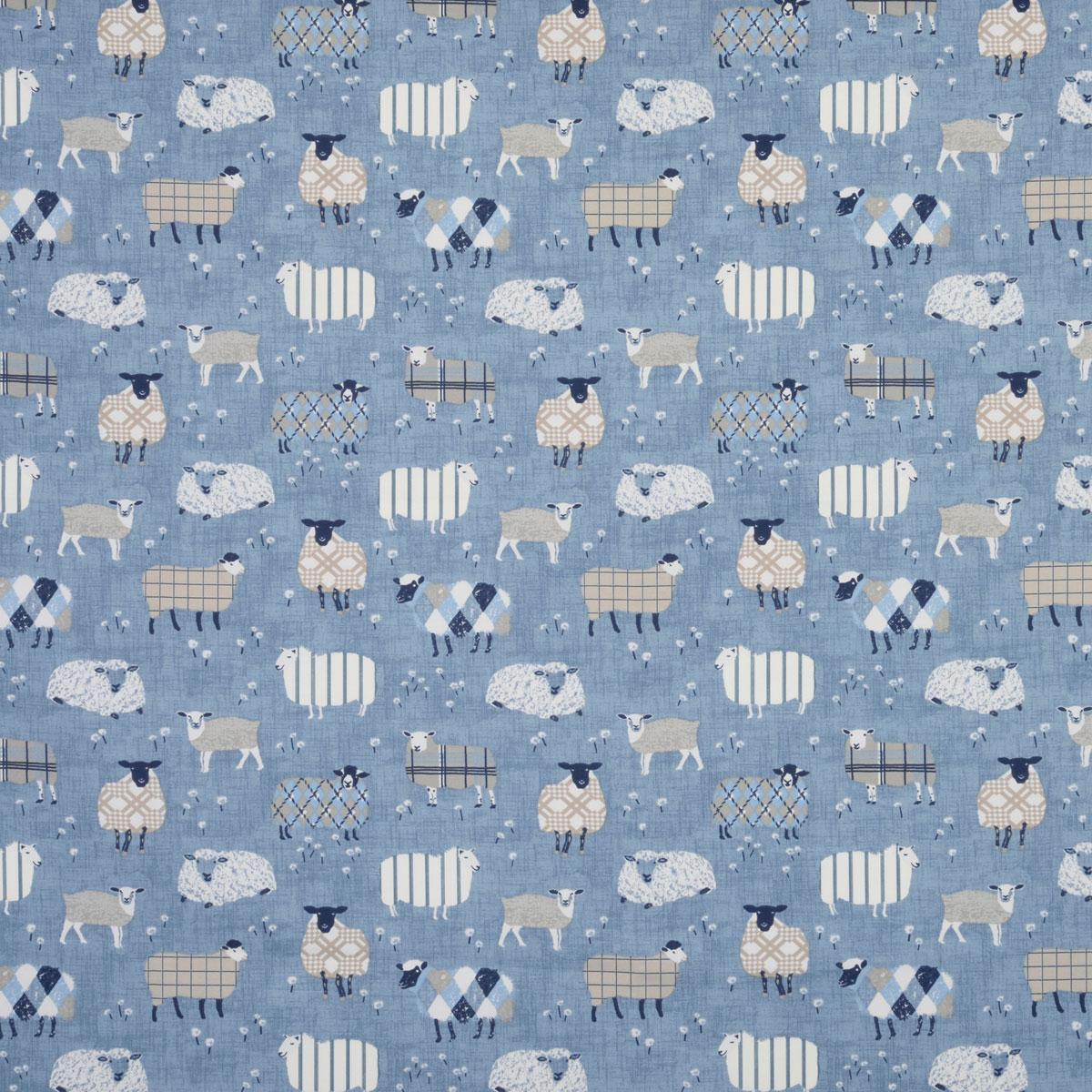Bargain Denim Baa Baa Curtain Fabric Stockists