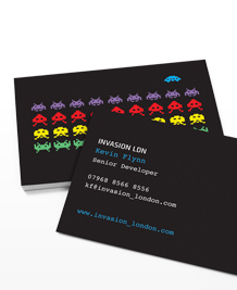 Stockists of Developers Business Cards, 50 qty