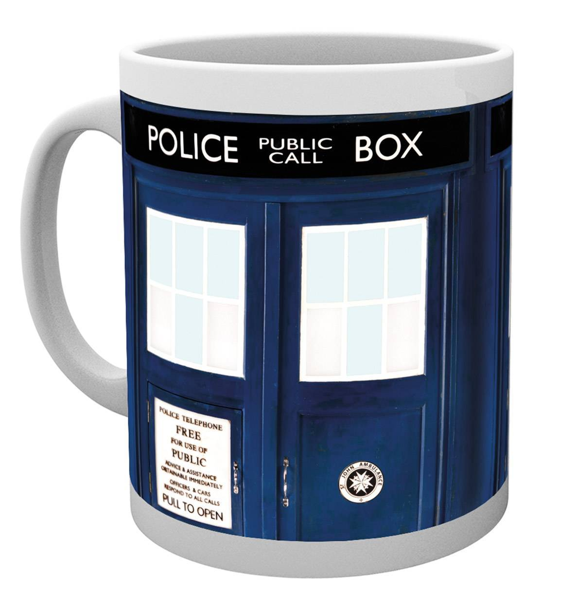 Bargain Doctor Who Tardis Mug Stockists